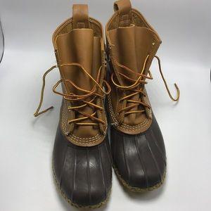 L.L. Bean Waterproof Duck Boot 9 M Women's